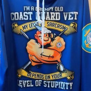 US Coast Guard Vet hoodie